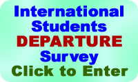 Click to take the International Departures Survey