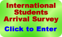 Click to complete the International Students Arrival Survey